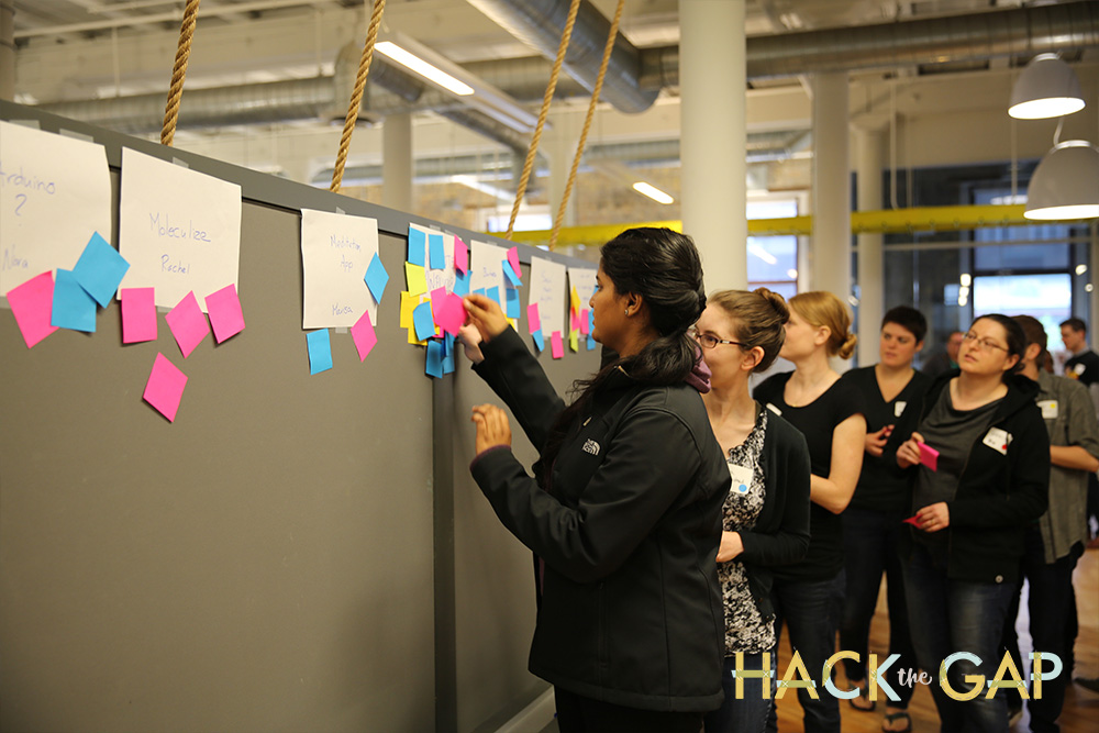Image for Join us for Hack the Gap 2016