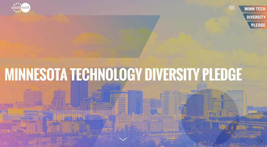 Image for Clockwork Launches Diversity Pledge for Local Technology Industry