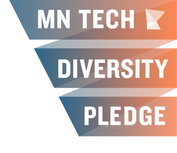 Badge committing to the MN Tech Diversity pledge