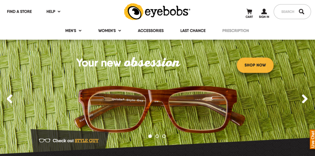 Image for eyebobs and Clockwork partner on Website Redesign