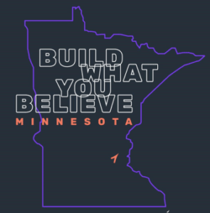 Build What You Believe Minnesota graphic